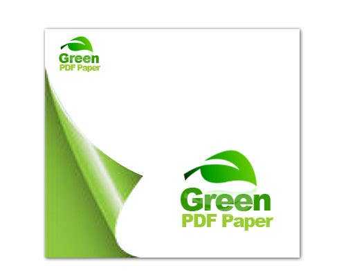#438 for Logo Design for Green PDF Paper by LogoDunia