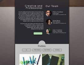 #1 cho Graphic design for a simple landing page bởi sadib007