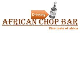 "Nro 8 kilpailuun I need a logo for my restaurant business.  The name of the restaurant is ""African Chop Bar"". And the motto is ""Fine taste of Africa"" käyttäjältä MadaciSarah"