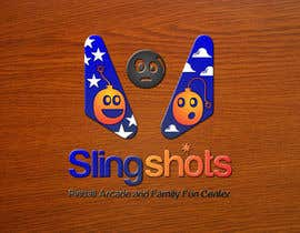 #79 para Logo Design for Slingshots Pinball Arcade and Family Fun Center por ImArtist