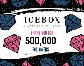 """#276 for """"THANK YOU FOR 500,000 FOLLOWERS!"""" Instagram Graphic!! by janainabarroso"""