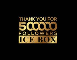 """#205 for """"THANK YOU FOR 500,000 FOLLOWERS!"""" Instagram Graphic!! by vectorator"""
