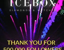 """#541 for """"THANK YOU FOR 500,000 FOLLOWERS!"""" Instagram Graphic!! by RAZIBMONDAL"""