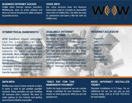 #14 for Tri-Fold Flyer for Internet Service Provider af ilditi