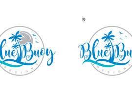 #115 para Logo design for Blue Buoy designs.  A coastal home decor & apparel store de fourtunedesign