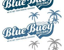 #121 para Logo design for Blue Buoy designs.  A coastal home decor & apparel store de totemgraphics