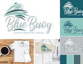 #93 para Logo design for Blue Buoy designs.  A coastal home decor & apparel store de mediateacher