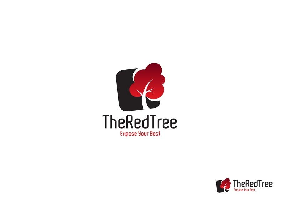 #948 for Logo Design for a new brand called The Red Tree by WabiSabi