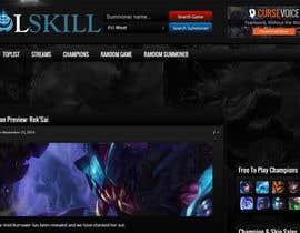 unkowns5 tarafından Design a new logo for a gaming website (LoL) için no 1