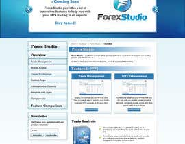 nº 36 pour Website Design for Forex Studio product page par anjaliarun09