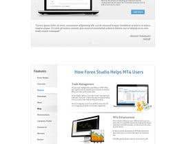 #20 para Website Design for Forex Studio product page por abatastudio