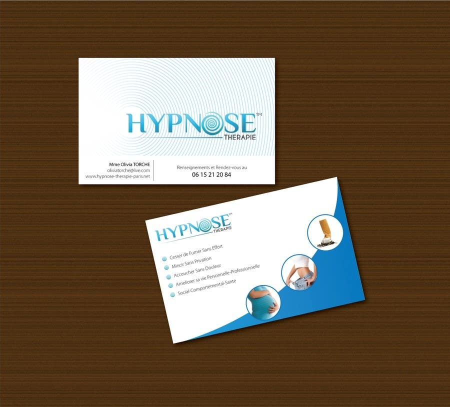 Entry 114 By Nimonix For Business Card Design For Hypnosis Freelancer