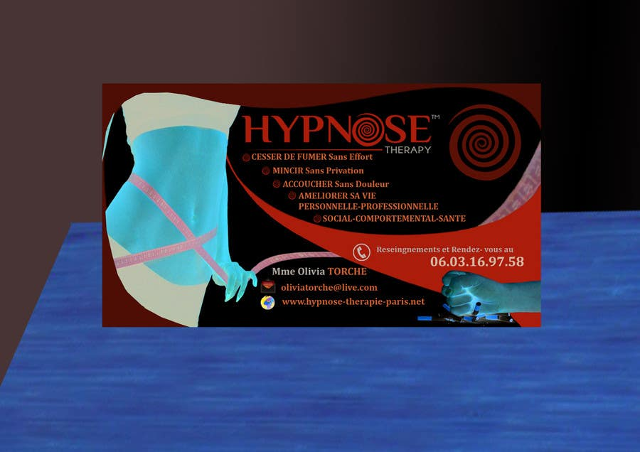 Entry 164 By Vndancheva For Business Card Design For Hypnosis
