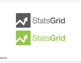 #169 cho Logo Design for StatsGrid bởi nathansimpson