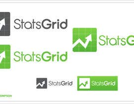 #176 cho Logo Design for StatsGrid bởi nathansimpson