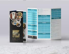 #23 for Design a fold-able A4/A3 menu for Spa by Sumonrm