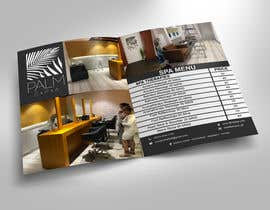 #9 for Design a fold-able A4/A3 menu for Spa by abdulmonayem85
