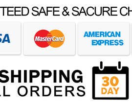 #11 for Design secure, shipping checkout images for shop page by PsyWhat