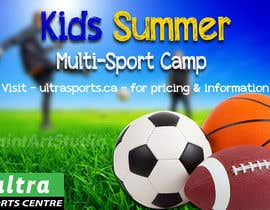 #33 for Summer Camp Banner by Shtofff