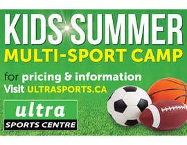 #17 for Summer Camp Banner by ziauddin1973