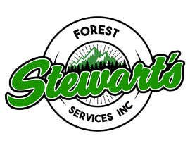 Nambari 22 ya Design a Logo Stewart's Forest Services Inc na jhorvindeffit
