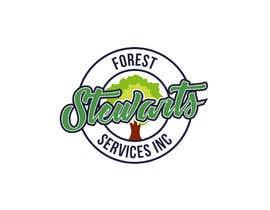 Nambari 4 ya Design a Logo Stewart's Forest Services Inc na alenhr