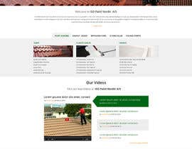 Nro 48 kilpailuun Design a website for a danish company käyttäjältä suryabeniwal