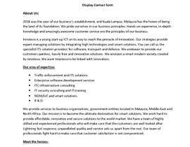 #3 for I.C.T Company's Profile Writing (Website Copy) by ArtisticVision
