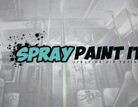 """Nambari 4 ya A logo to represent what we do . We are called """"Spray paint it"""" We spray paint upvc windows, doors, conservitories, kitchens to any ral colour, on site na MaestrosDelTrudo"""