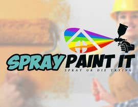 """Nambari 11 ya A logo to represent what we do . We are called """"Spray paint it"""" We spray paint upvc windows, doors, conservitories, kitchens to any ral colour, on site na MaestrosDelTrudo"""