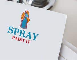"""Nambari 9 ya A logo to represent what we do . We are called """"Spray paint it"""" We spray paint upvc windows, doors, conservitories, kitchens to any ral colour, on site na Umekulsoom"""