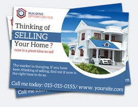 #4 for Motivated seller (REalEstate) POSt card by Hasan628