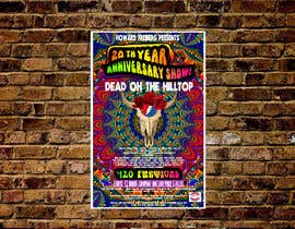 #126 for 420 Deadhead Concert Poster design needed by natyacu