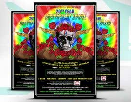 #124 for 420 Deadhead Concert Poster design needed by satishandsurabhi