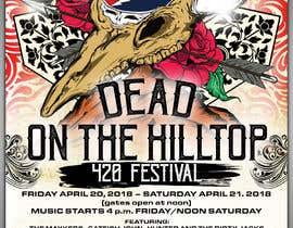 Nambari 97 ya 420 Deadhead Concert Poster design needed na tmaclabi
