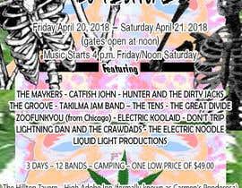 Nambari 31 ya 420 Deadhead Concert Poster design needed na shamandelarea