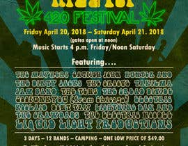 Nambari 87 ya 420 Deadhead Concert Poster design needed na rartvi
