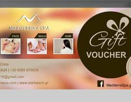 #21 for Spa Gift Certificate by ConceptGRAPHIC