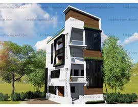 Nambari 2 ya I need a 3d rendered very high quality design for the exterior of my apartment building. na harijithsr