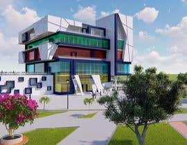 Nambari 9 ya I need a 3d rendered very high quality design for the exterior of my apartment building. na djoeart