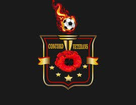 Nambari 34 ya Football (Soccer) Logo for a USA military veterans football team na EngelHernandez