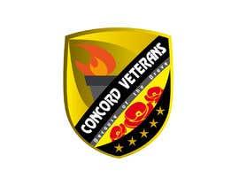 Nambari 27 ya Football (Soccer) Logo for a USA military veterans football team na gusduno