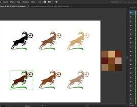 #40 for Simple Jumping Angry Goat Vector by gdnirjhar