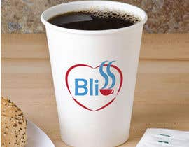 "nº 14 pour Logo design - ""Bliss"" on hot paper cup par AMOROMANIA"
