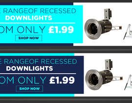 #38 para Design a stunning website banner to promote our range of downlights de owlionz786
