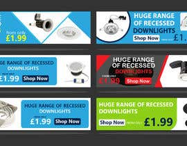 #41 para Design a stunning website banner to promote our range of downlights de owlionz786
