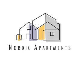 #104 for Design a logo for Nordic Apartments in Reykjavik by starblanco