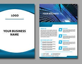 #3 for A5 Flyer for print + Web site banner templates  for design, print (t shirt, roll ups, poster, ...) by tatyana08