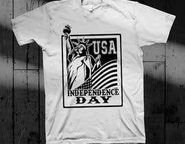 #11 for Design USA Independence day, with USA flag too, it's an image who will be printed on a Tshirt -- 2 by mhegzmhogz8