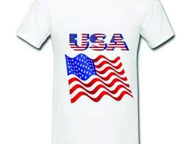 #33 for Design USA Independence day, with USA flag too, it's an image who will be printed on a Tshirt -- 2 by pipulhasan